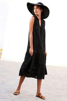 Next Broderie Maxi Dress