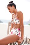 Next Floral Padded Underwired Bikini Top