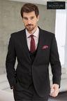 Next Signature Italian Wool Suit: Jacket - Skinny Fit