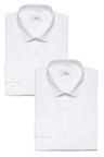 Next Button Down Collar Slim Fit Shirts Two Pack