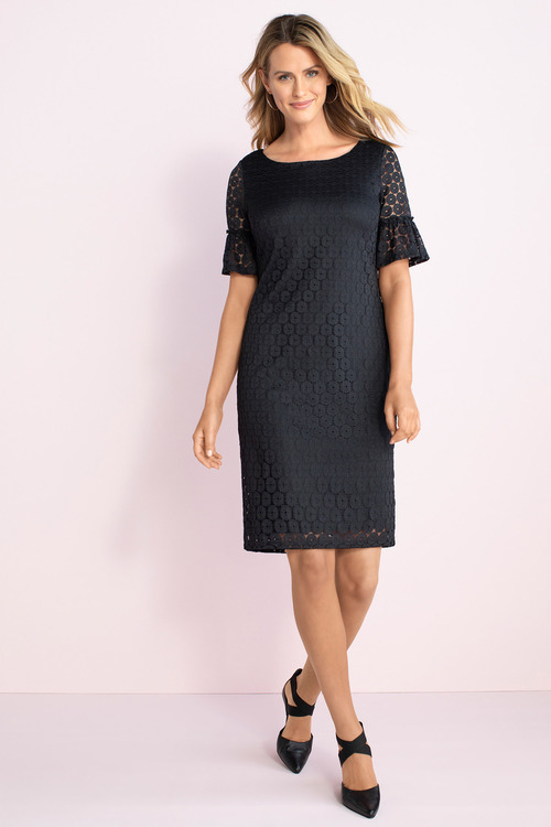 Capture Sleeve Detail Dress