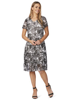 Noni B Printed Alora Dress