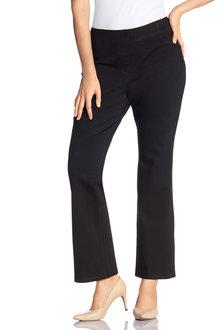 Plus Size - Sara Elastic Waist Bootleg Jean