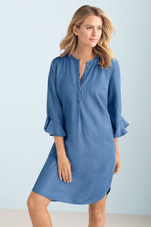 Capture Chambray Dress