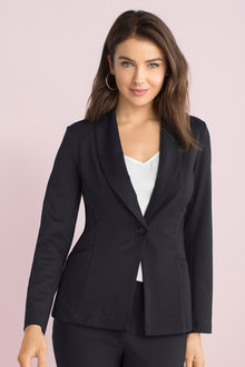 Capture Ponte Knit Blazer