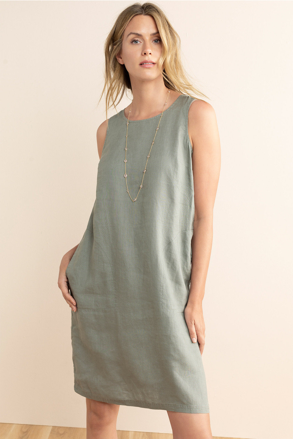 d2dcaa02f96 Capture Linen Dress Online