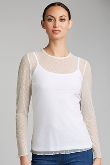 Capture Long Sleeve Layering Top