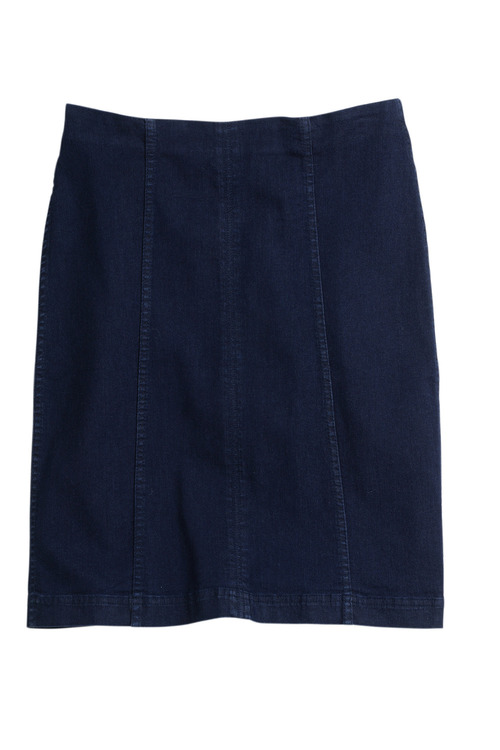 Capture Panelled Denim Skirt