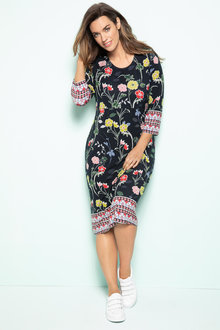 Plus Size - Sara Scoopneck Dress