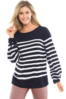 Capture Everyday Stripe Knit