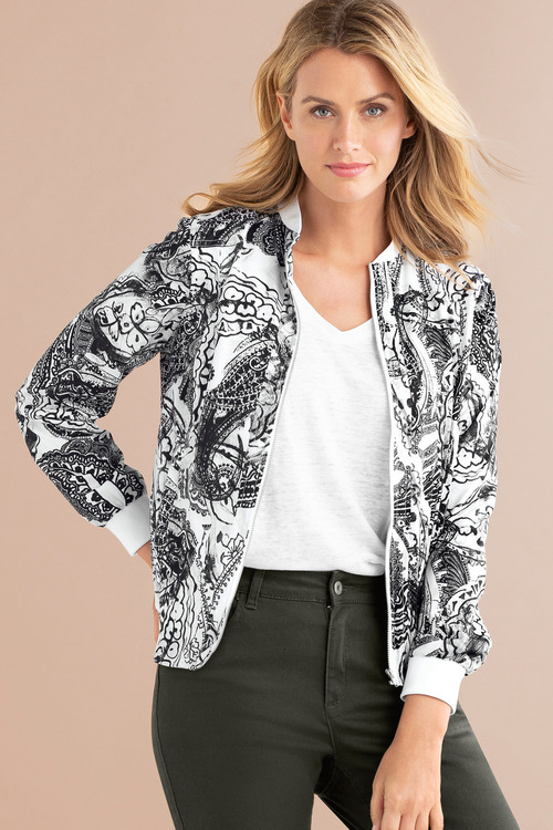 Capture Bomber Jacket