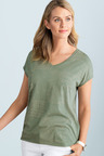 Capture V Neck Tee