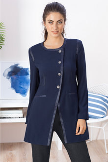 Grace Hill Back Detail Coat