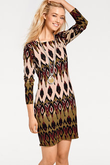 Heine Printed Light Knit Dress