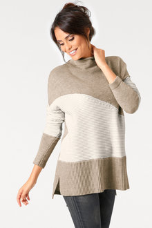Heine Geometric Light Pullover