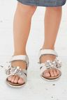 Next Flower Corkbed Sandals (Younger Girls)