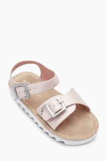 Next Metallic Sporty Sandals (Younger Girls)