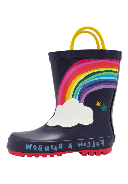 Next Rainbow Wellies (Younger Girls)
