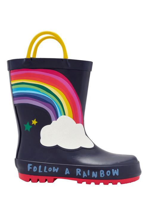 Next Rainbow Wellies (Younger Girls)