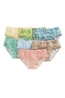 Next Multi Floral Briefs Seven Pack (1.5-16yrs)