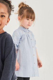 Next Pinstripe Shirt Dress (3mths-6yrs)