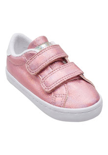 Next Metallic Touch Fastening Trainers (Younger Girls)
