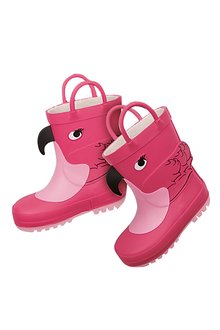 Next Flamingo Wellies (Younger Girls)