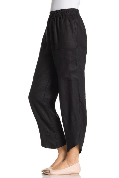 Grace Hill Linen Pocket Pant