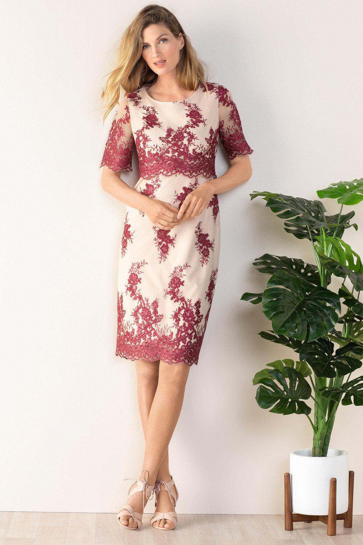 676d6e3e04 Grace Hill Layered Lace Dress Online | Shop EziBuy