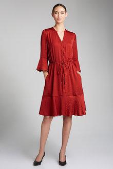 Grace Hill Tie Waist Dress - 198108