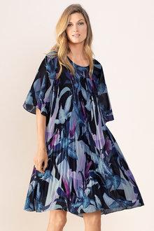 Grace Hill Pleat Dress