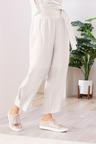 Grace Hill Cuff Detail Linen Pants