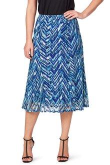 Noni B Miranda Printed Skirt