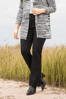 Plus Size - Sara So Slimming Bootleg Jean