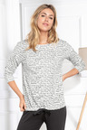 Mia Lucce Long Sleeve PJ Top