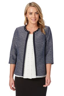 Noni B Leigh Jacket Boucle