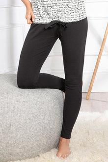 Mia Lucce Ribbed Leggings