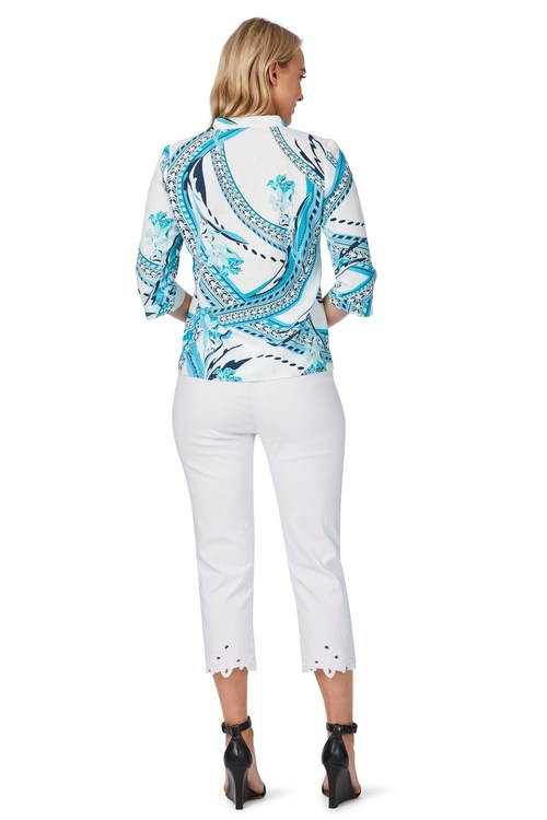 Noni B Marcelle Printed Shirt