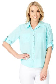 Noni B Sally Spot Shirt - 198195