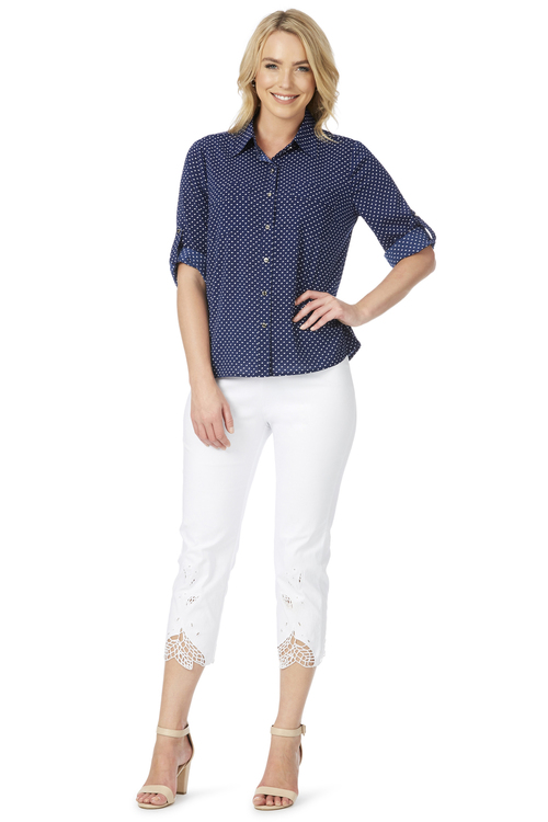 Noni B Sally Spot Shirt