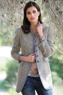 Euro Edit Wool Blend Jacket
