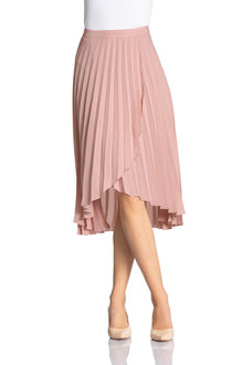Emerge Cross Over Pleat Skirt