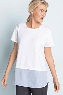 Emerge Shirt Hem T-Shirt