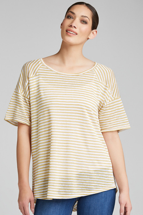 Emerge Stripe Detail Tee