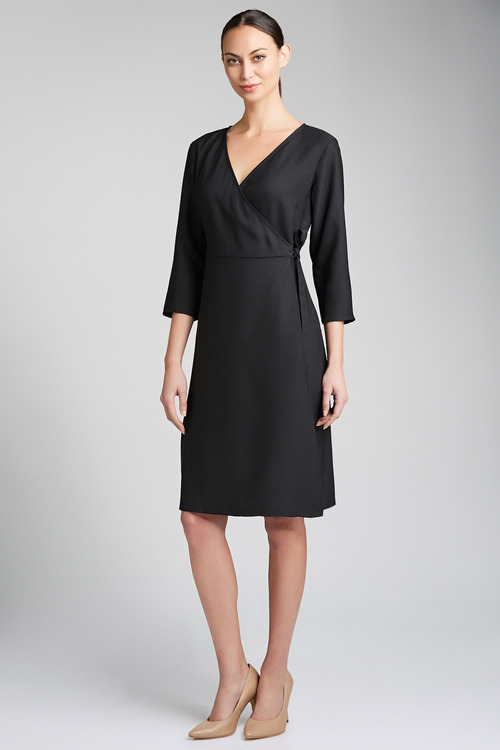 Capture Wrap Dress
