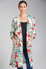 Capture Printed Drape Jacket