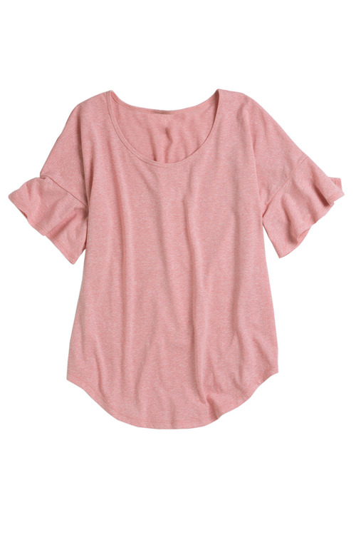 Capture Ruffle Sleeve Tee