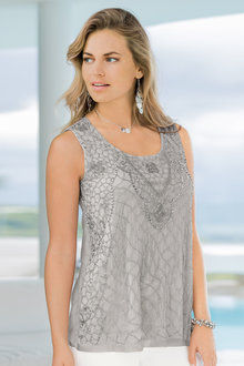 European Collection Beaded Top - 198282
