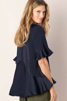 Grace Hill Ruffle Top
