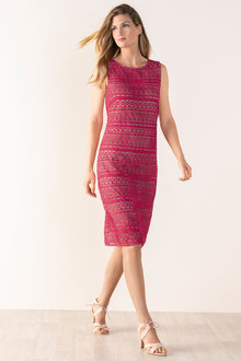 Grace Hill Classic Lace Shift - 198289